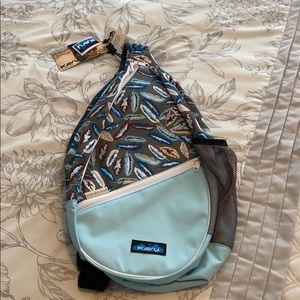 Kavu Feather Rope Sling Bag